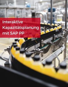 SAP kapazitätsplanung